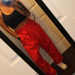 Red Prima Fit Sweats LOOK AT DESCRIPTION FOR SIZE